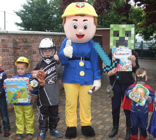 Fancy Dress Winners Meet Fireman Sam 2015