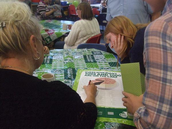 Year 6 pupils get parents involved 25.9.14