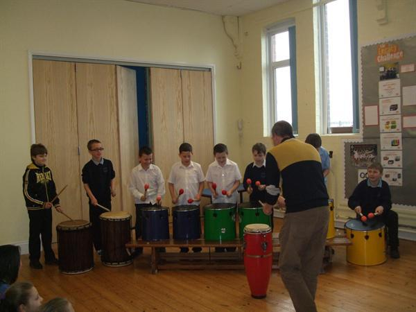 Brazlian Drumming Workshop