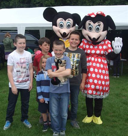 Mickey & Minnie at Summer Fair 2015