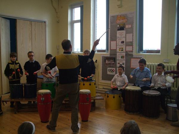 Brazlian Drumming Workshop