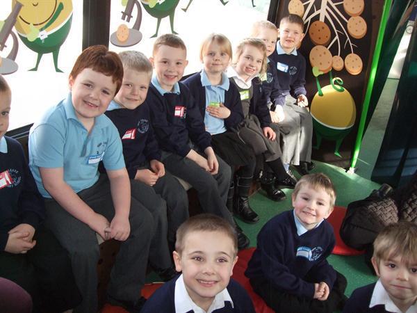 Class 1 on Branston Potato Bus 29.2.16