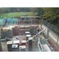 Brickwork gets underway