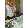 Miss Dawson gets dressed up for Red Nose Day