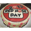Red Nose Day Cake Raffle donated by Mrs Casey