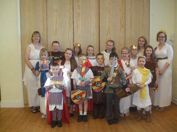 Roman Day March 2015 - Pupils & Staff Dress Up