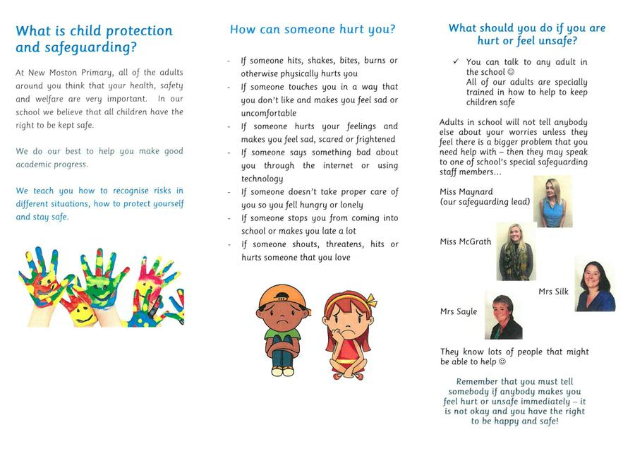 Child Friendly Safeguarding Policy Leaflet Part 2