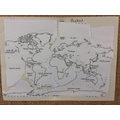Plate tectonic puzzle
