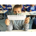 In Maths, this week we have been learning about decimals.