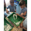 eam work to build an igloo out of sugar cubes.