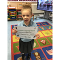 Well done Darcey outstanding learning