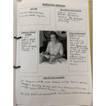 Creating character profiles of Katherine Johnson - do you know why she is famous?