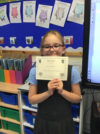 Amie! You worked very hard in Maths! You are a Superstar!:)