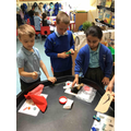 Sorting materials by their properties.