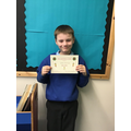 Well done Caiden for writing super descriptive sentences!