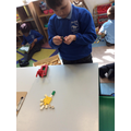 Building models - problem solving and lots of spoken language.