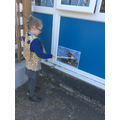 Hunting for the prehistoric animals.