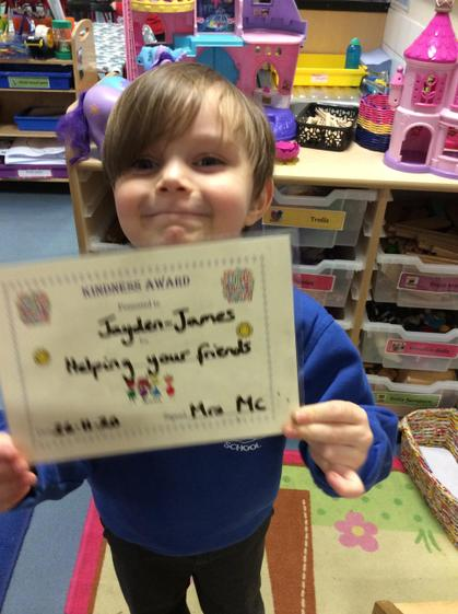 Well done Jayden for helping your friends.