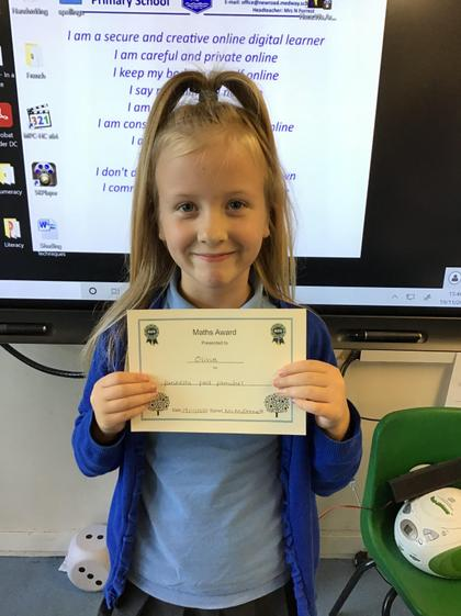 19.11.2020 Olivia completed work on addition and subtraction fact families