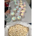 we also enjoyed eating popcorn and candy floss :)