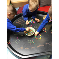 Fine motor skills and learning about shapes
