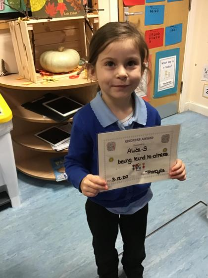 Well done Alice, you are always a super friend to others.