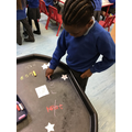 We have been practising reading and writing words.