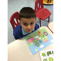 The children completed harder puzzles