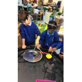 We tested different materials to find out about their properties.
