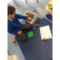 Harvey designed and built his own buggy to send to Mars out of Lego