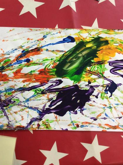 A fabulous  marble painting Jaclynne.