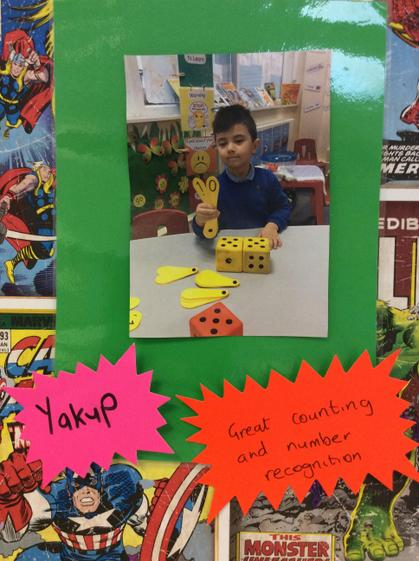 Well done Yakup for super counting and number recogntion.