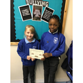 Excellent job Angel and Rose-Mary for getting quickly into your acting roles :)