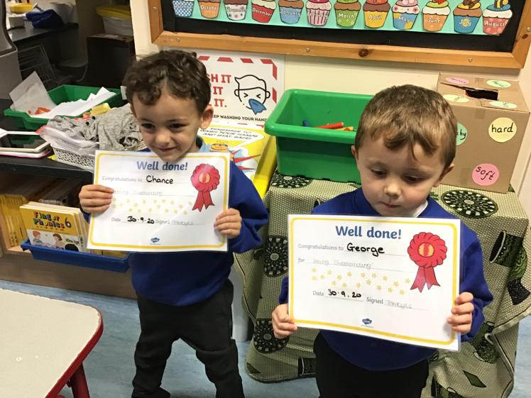 Well Done Chance and George.