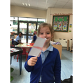 We enjoyed making Our England flags.