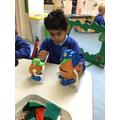 Yusuf made different Mr Potato heads