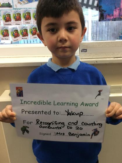 Excellent counting skills Yakup. Well done.