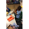 This week we have been learning about pirates. We made a boat from junk modelling.