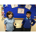 Joshua & Samuel, you've been amazing at reading this week. Well done! :)