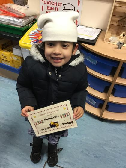 Well done Humairah for a super week.