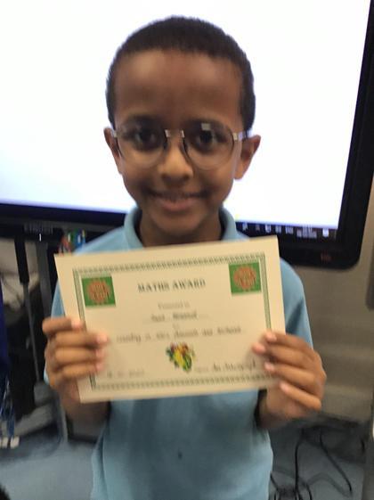 Saad! Fantastic Maths skills! Well done:)