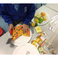 Week 3- learning about healthy and unhealthy food