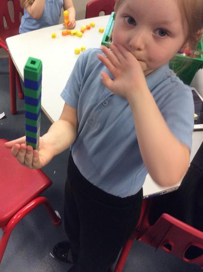 Aimee did a lovely repeated pattern.