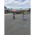 How does the Earth orbits around the Sun and the Moon orbits around the Earth - roleplay:)