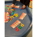Phonics word building
