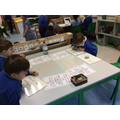 Making words focusing on digraph spotting.