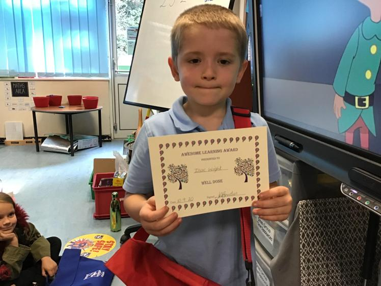 Week 1 - Awesome learning Liam - well done.