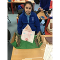 Work inspired by Oliver Jeffers' book 'What we'll build'.