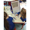 Using repeating patterns to create art work inspired by William Morris