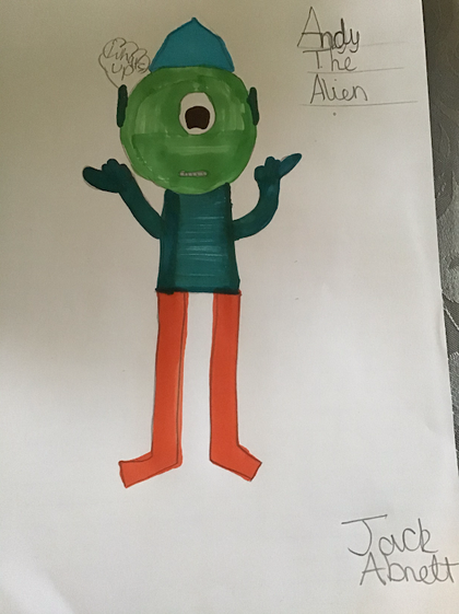 Jack's Alien 'Andy' (Y5)